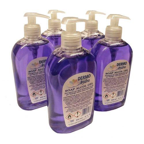dermo hydra soap alcool gel