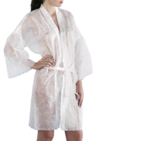 Kimono in TNT bianco