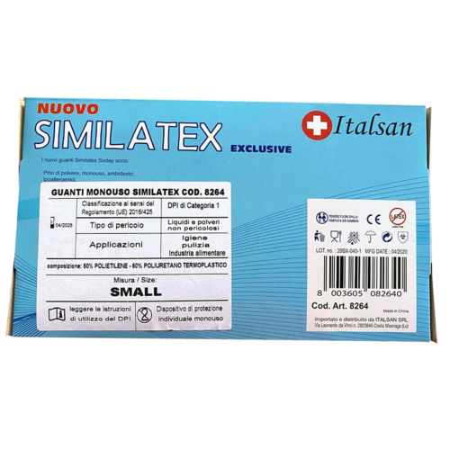 Guanti monouso Similatex Italsan