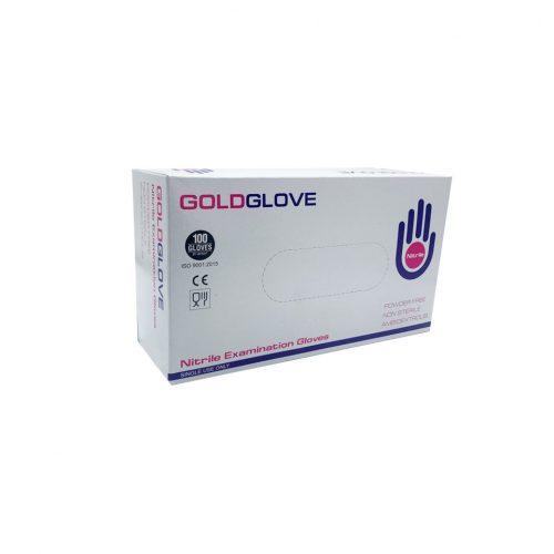 Guanti neri in nitrile senza polvere GoldGlove